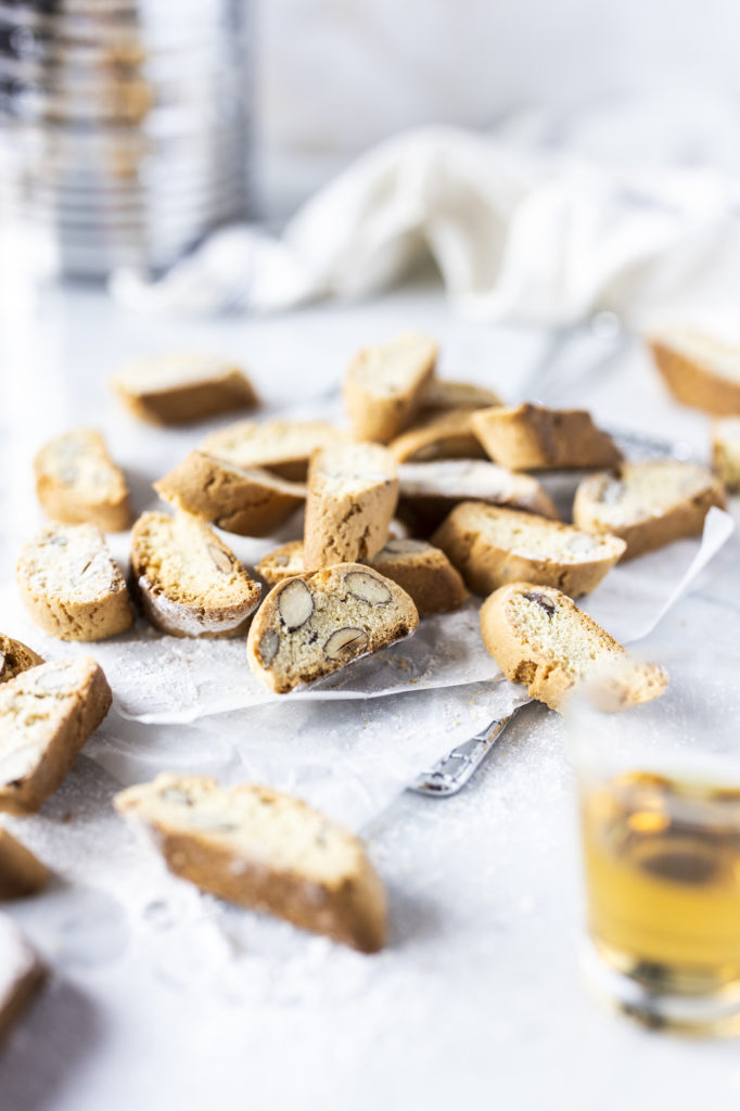 Italian Cantuccini almond biscuits