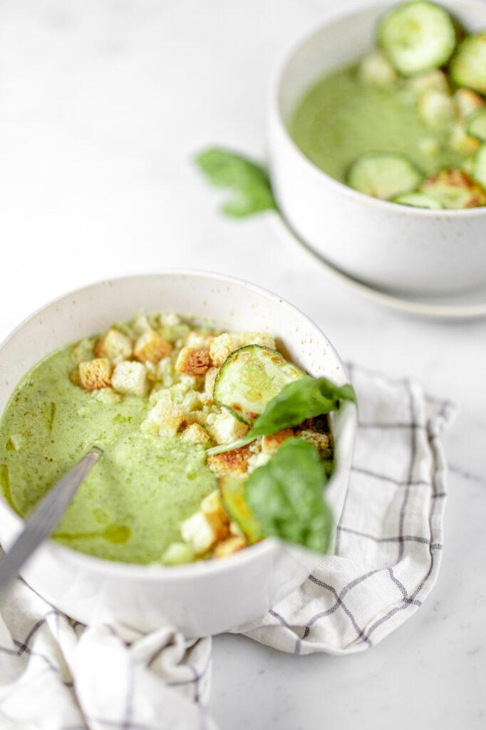 zucchini purè