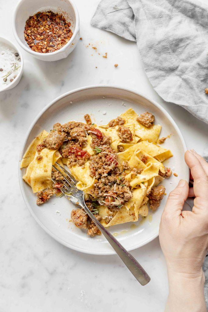 ragù pasta