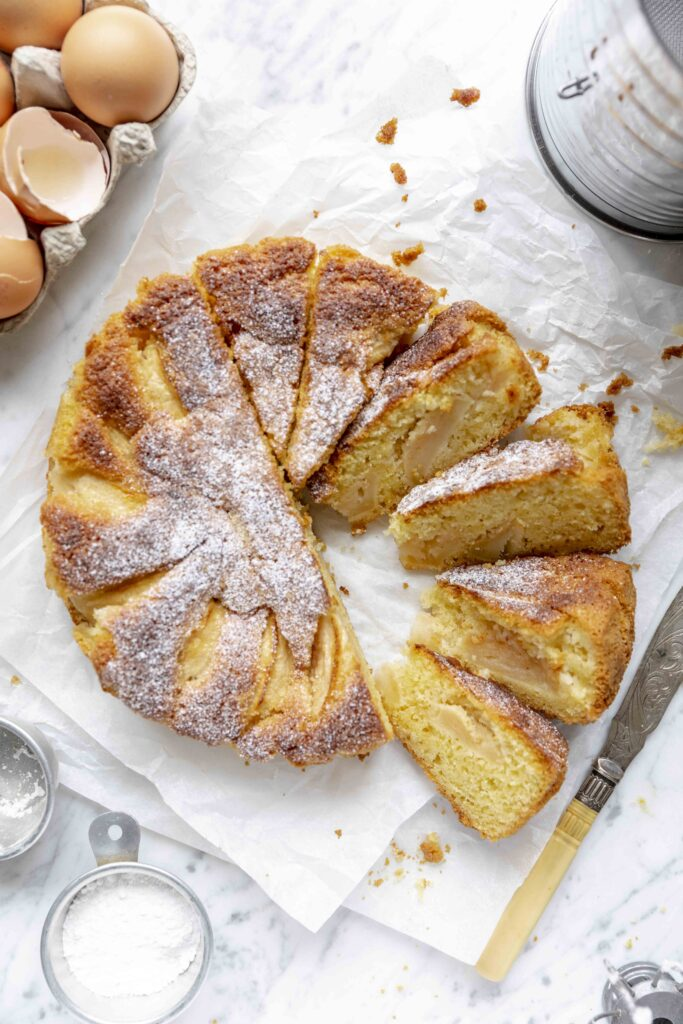 fluffy apple cake
