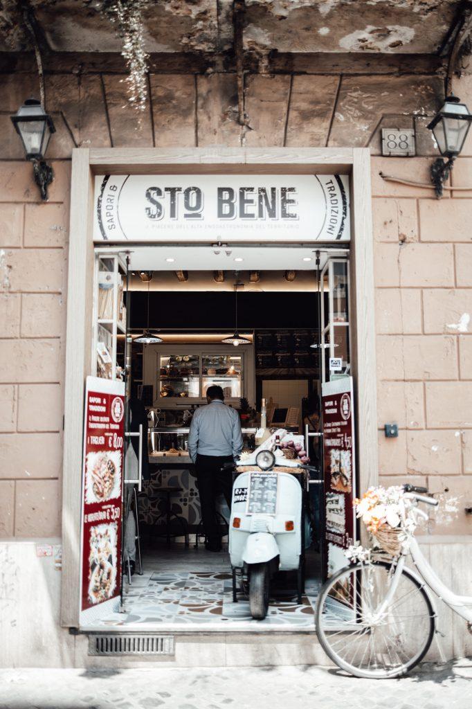 A shop in Rome