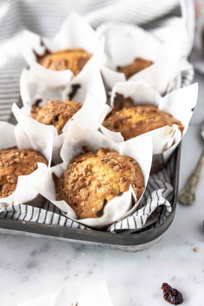 mini muffin cranberries