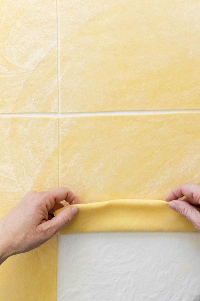 tagliatelle sheet pasta