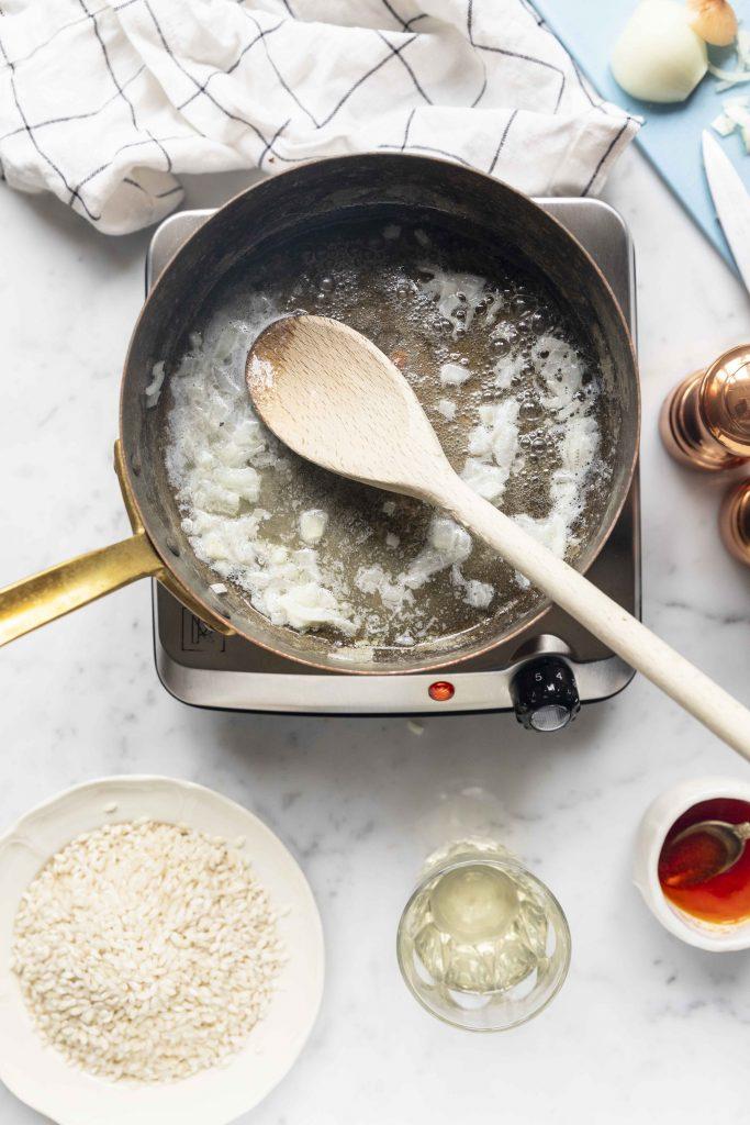 butter risotto saffron