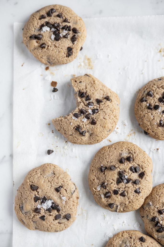 Chocolate chip cookies for breakfast