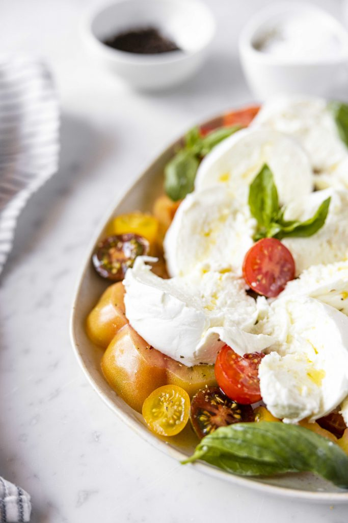 The best Italian caprese salad