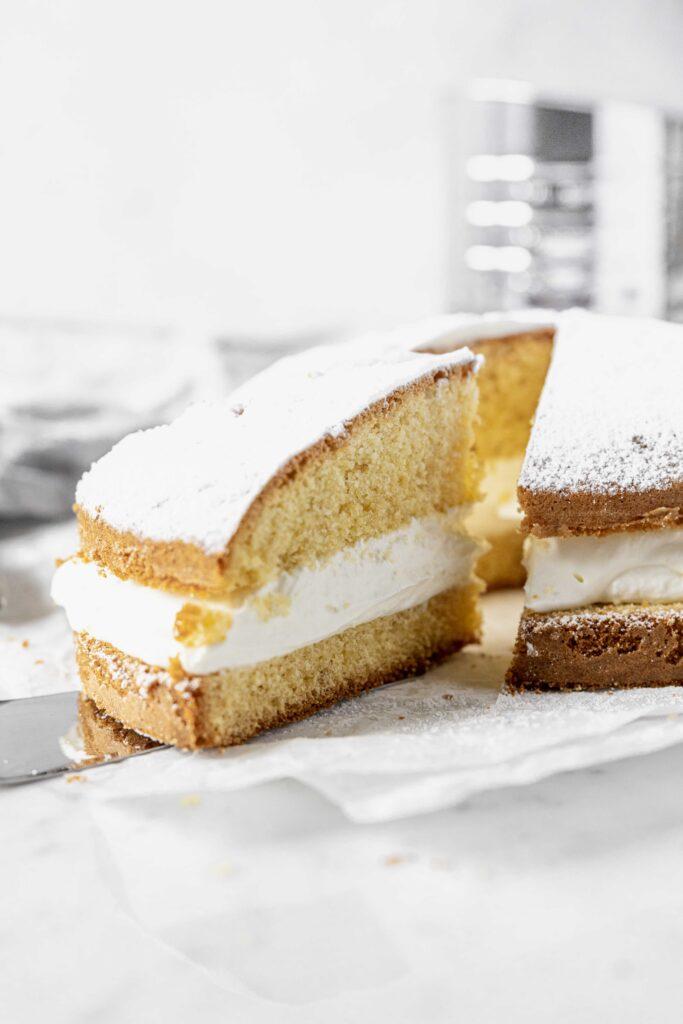 torta margherita filled