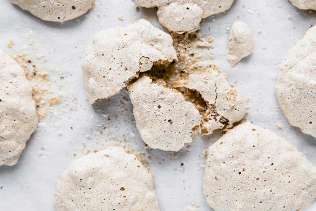 """""""Brutti ma buoni"""", ugly but good: Italian vanilla hazelnut cookies."""