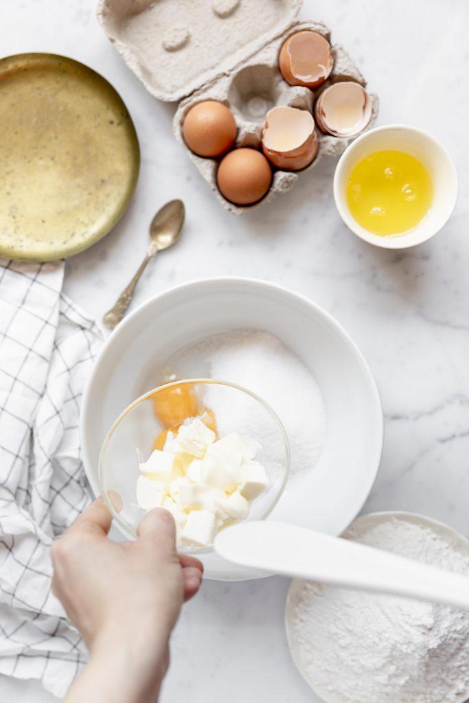 preparation crostata ricotta