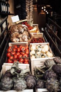 rome market veggie