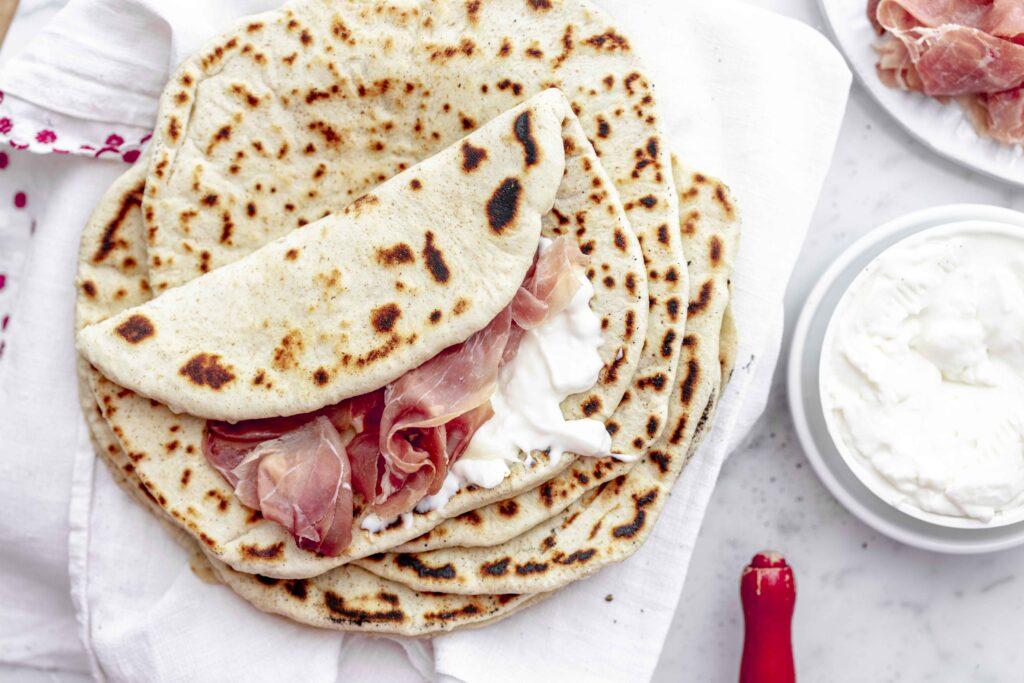 italian piadina romagnola