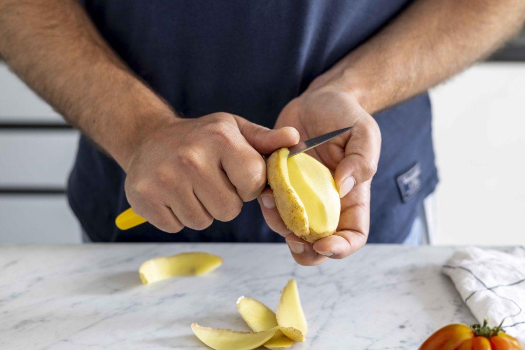 knives potato
